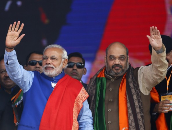 rss modi pm narendra amit shah bjp president chief elections modi govt ministers concentration of power leadership style