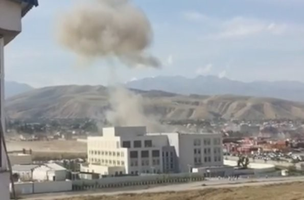 Chinese embassy,blast at Chinese embassy,Chinese embassy blast,Kyrgyzstan,Blast at Chinese embassy,Chinese embassy in Kyrgyzstan