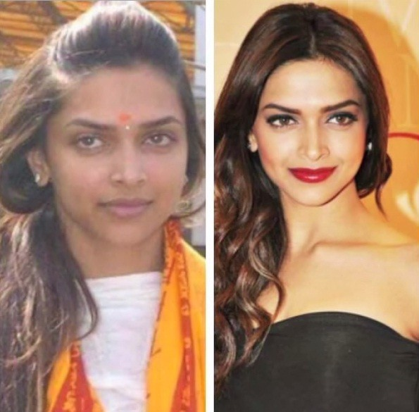 Top 10 Bollywood Actresses without Make-up