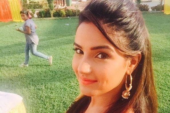 "Jasmin Bhasin and other TV actors share their childhood memories with Janmashtami. Pictured: ""Tashan-E-Ishq"" lead actress Jasmin Bhasin aka Twinkle"