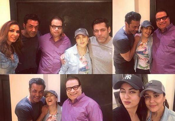Preity Zinta birthday bash
