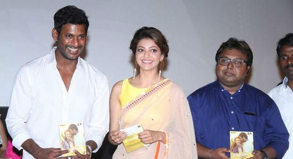 Paayum Puli,Paayum Puli Audio Launch,Verum Puli ellada Paayum Puli,single track,Vishal,Kajal Aggarwal,KS Ravikumar,Paayum Puli Audio Launch pics,Paayum Puli Audio Launch images,Paayum Puli Audio Launch photos,Paayum Puli Audio Launch stills,Paayum Puli Au
