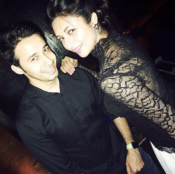 Karan Patel and Ankita Bhargava Cocktail Party
