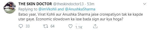 Virat Kohli Anushka Sharma