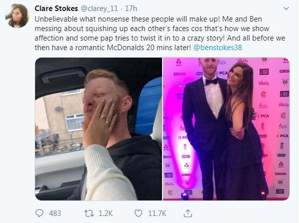 Ben Stokes wife