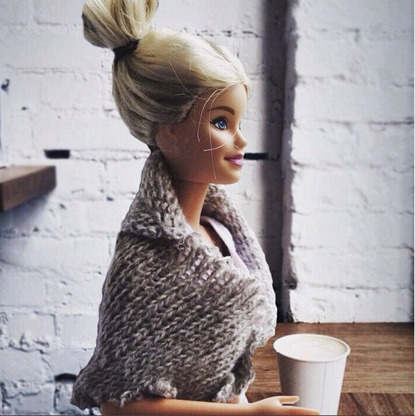 Hipster barbie,barbie,hipster,Instagram,Plastic doll,Instagram pictures,viral on instagram,Instagram barbie,hipster barbie instagram,Socality Barbie,socalitybarbie,#liveauthentic