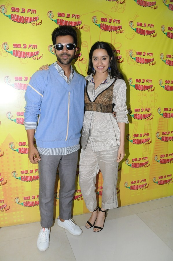 Shraddha Kapoor and Rajkumar Rao,Shraddha Kapoor,Rajkumar Rao,Radio Mirchi,Stree,Stree promotion,Stree movie promotion,Stree promotion at Radio Mirchi,Stree pics,Stree images,Stree stills,Stree pictures,Stree photos
