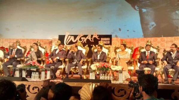 Guests Sitting on Stage at