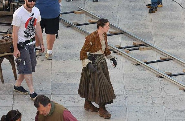Arya Stark gets a makeover