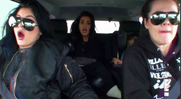 A still from 'Keeping Up With The Kardashians.'