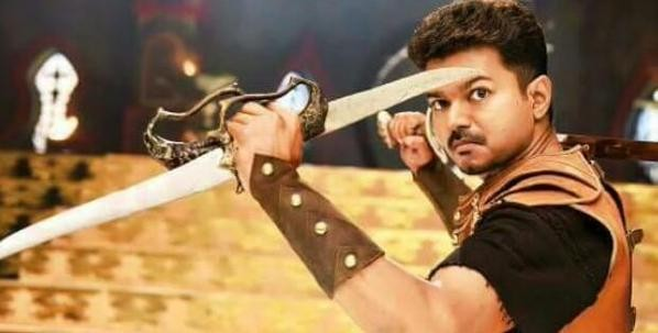 Vijay's Look in 'Puli'