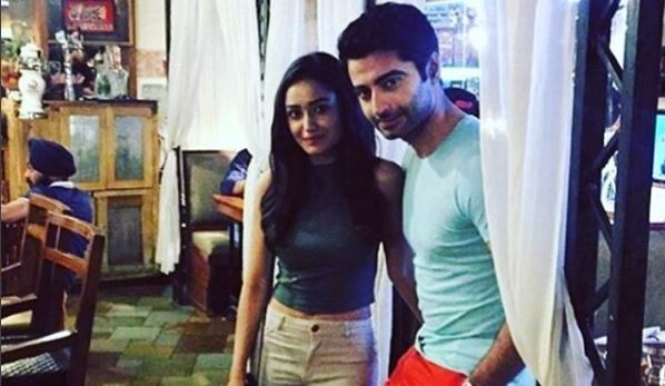 Harshad Arora and Tridha Choudhury holiday together in Europe. Pictured: Harshad Arora and Tridha Choudhury