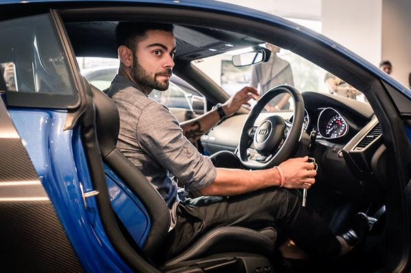 Virat Kohli,cricket player Virat Kohli,virat kohli R8 LMX AUDI,sports car,R8 LMX,Audi R8 LMX,Audi car,Virat Kohli becomes latest owner of Audi's Rs 2.97-cr R8 LMX