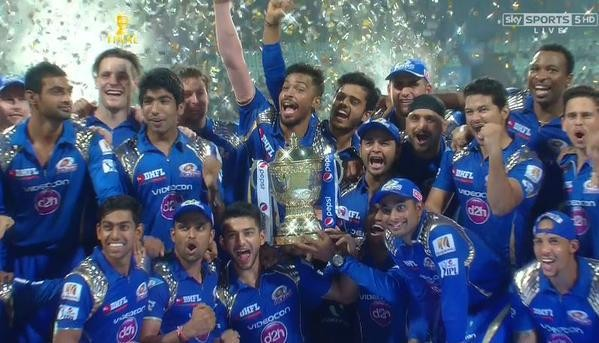 Mumbai Indians: IPL 2015 Champions,Mumbai Indians IPL 2015 Champions,Mumbai Indians Champions,Mumbai Indians IPL Champions,Mumbai Indians Champion,ipl final,ipl 2015,Mumbai Indians beats chennai,chennai super kings,sachin tendulkar,rohith sharma,mumbai in