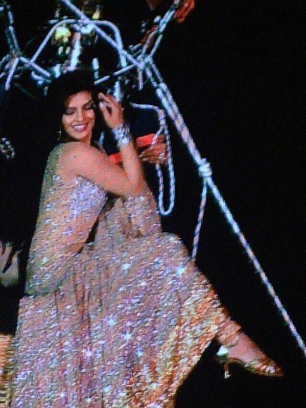 Priyanka Chopra dance performance at AIBA 2015,Priyanka Chopra rides a hot air balloon to start her performance at AIBA 2015,Priyanka Chopra at AIBA 2015,actress Priyanka Chopra at AIBA 2015,AIBA 2015,Priyanka Chopra performance at AIBA 2015,Priyanka Chop