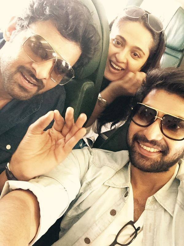 Baahubali Audio Launch,Baahubali Team reaches Tirupathi for Audio Launch,Baahubali Team,Prabhas,rana daggubati,Anushka Shetty,Baahubali Audio Launch pics,Baahubali Audio Launch images,Baahubali Audio Launch photos,Baahubali Audio Launch stills