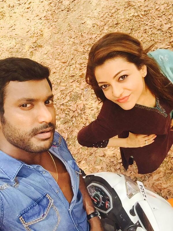 Payum Puli,puli,Vishal,Kajal Aggarwal,Paayum Puli,Payum Puli Working Stills,Payum Puli movie pics,Payum Puli movie stills,Payum Puli movie photos,Payum Puli movie images,Payum Puli movie pictures