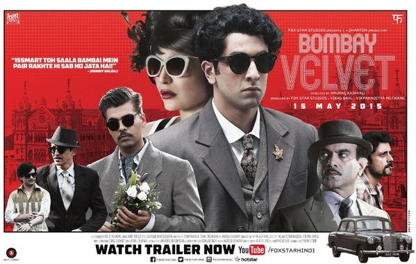 Bombay Velvet,bollywood movie Bombay Velvet,Bombay Velvet movie stills,Bombay Velvet movie pics,Ranbir Kapoor,Anushka Sharma,Karan Johar