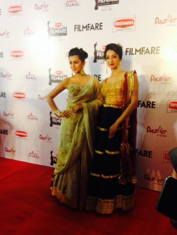 Sanjjanaa,actress Sanjjanaa,Sanjjanaa at 62nd Filmfare Awards,Sanjjanaa Galrani,62nd Filmfare Awards,Filmfare Awards,Filmfare Awards 2015,Filmfare Awards pics,Filmfare Awards images,Filmfare Awards photos,Filmfare Awards  stills