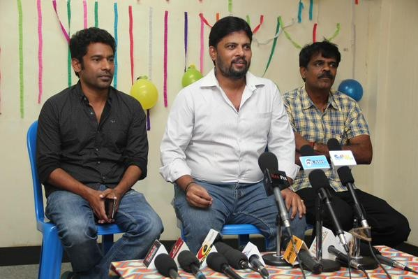 Puli Movie Press Meet,Puli Movie,Puli Press Meet,vijay,actror vijay,Chimbudevan,Puli Poster Leaks Issue Press Meet Stills,Puli Poster Leaks Issue