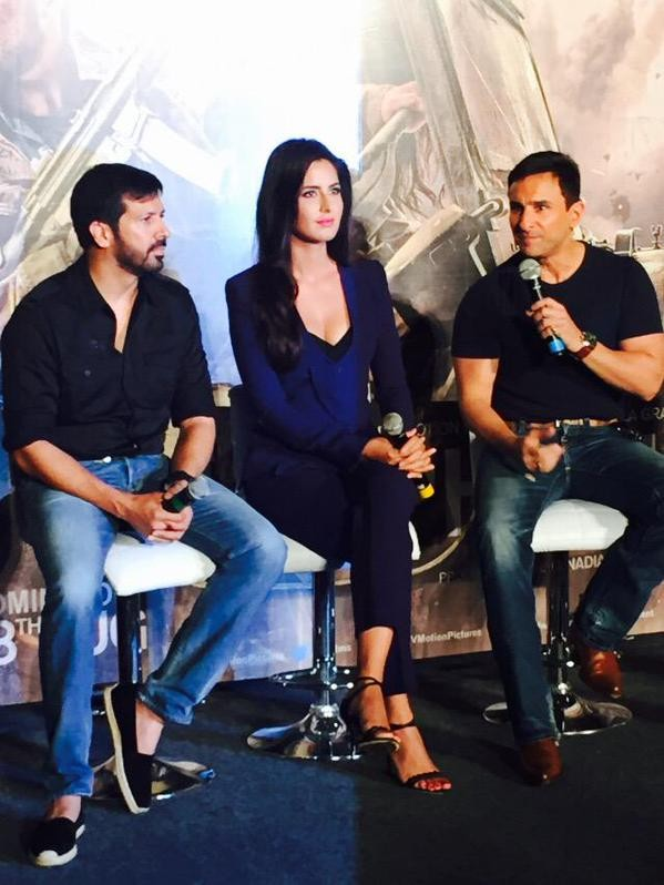 Phantom Trailer Launch,Phantom,Phantom Trailer Launch pics,Phantom Trailer Launch images,Phantom Trailer Launch photos,Phantom Trailer Launch stills,Phantom Trailer Launch pictures,Katrina Kaif,Saif Ali Khan