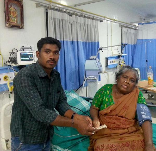 Paravai Muniyamma,Folk singer Paravai Muniyamma Hospitalized,Folk singer Paravai Muniyamma,Paravai Muniyamma Hospitalized,Vishal takes Paravai Muniyamma into his Hands,Vishal