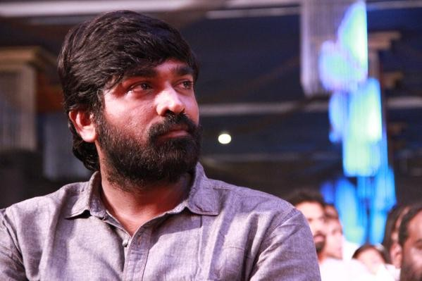 Vijay Sethupathi at Puli Audio Launch,Puli Audio Launch,vijay's Puli audio launch,Vijay Sethupathi,actor Vijay Sethupathi,Vijay Sethupathi  latest pics,Vijay Sethupathi  latest images,Vijay Sethupathi  latest photos