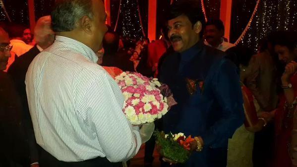 Chiranjeevi's 60th Birthday Celebration,Chiranjeevi 60th Birthday Celebration,Chiranjeevi Birthday Celebration,celebs at Chiranjeevi Birthday Celebration,Chiranjeevi Birthday party,Chiranjeevi Birthday bash,Chiranjeevi,pawan kalyan,suriya,allu arjun
