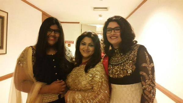 Kushboo Sunder,Suhasini Maniratnam,Kaniha,celebrity ramp walk,celebrity fashion show,CIFW,Jayam ravi,save the girl child campaign