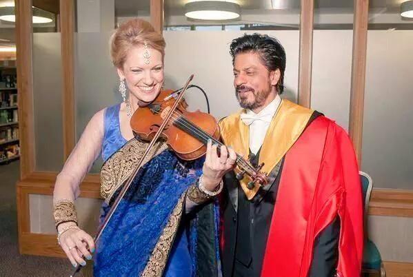 Shah Rukh Khan,Shahrukh Khan,SRK,Shah Rukh Khan receives doctorate,University of Edinburgh,second doctorate for SRk