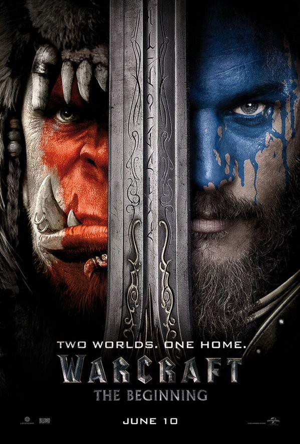 Warcraft,Warcraft first look,Warcraft poster,Warcraft 2016,Duncan Jones,Travis Fimmel,Paula Patton,Ben Foster,Dominic Cooper,Toby Kebbell,Stuart Fenegan,Warcraft first look poster