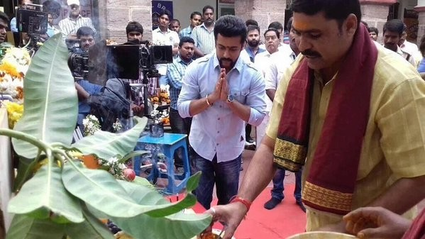 Suriya,Suriya's S3,Suriya's Singam 3,Singam 3 movie launch,S3 movie launch