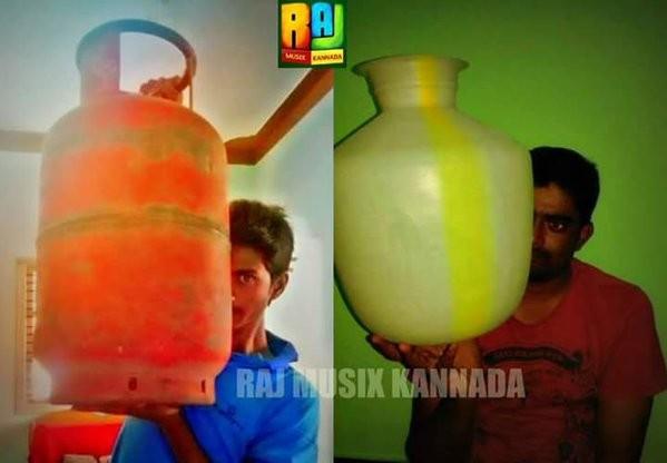 Shivaraj Kumar,Killing Veerappan,Coffee mug pose,Tea mug photo,Shivaraj kumar holding coffee mug,Ram Gopal Varma,funny selfies,funny Selfie
