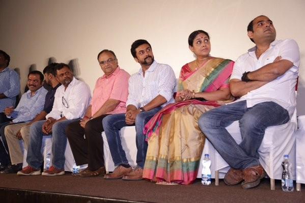 24 Press Meet,Tamil movie 24,Suriya,Saranya Ponvannan,Madhan Karky,Vikram Kumar,Mohan Raman,24 Press Meet pics,24 Press Meet images,24 Press Meet photos,24 Press Meet stills,24 Press Meet pictures