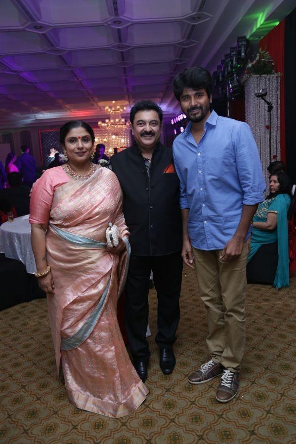 Rajkumar & Sripriya's 25th Wedding Anniversary,Suriya,Jyothika,Sivakarthikeyan,Vijay Sethupathi,R. Sarathkumar,Raadhika Sarathkumar,Suriya and Jyothika