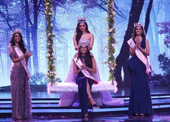 Femina Miss India 2018,Miss India 2018,Anukreethy Vas miss india,Who is Anukreethy Vas,Anukreethy Vas instagram,Anukreethy Vas photos