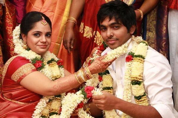 GV Prakash and Saindhavi