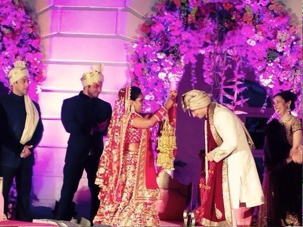 Arpita Khan Weds Aayush Sharma