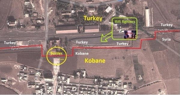 ISIS reportedly are being assisted by Turkey.