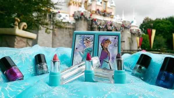 Frozen makeup collection