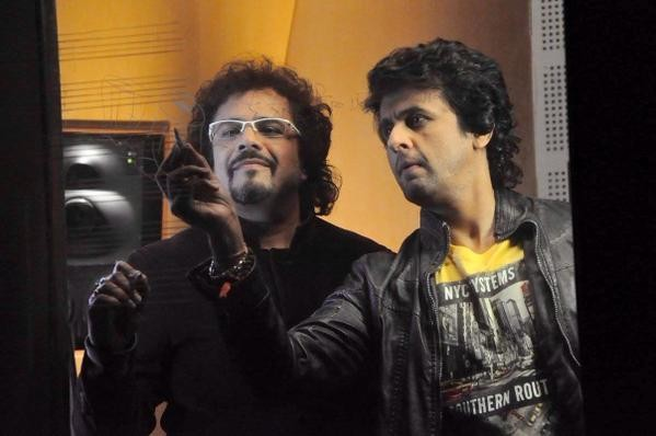 Sonu Nigam and Bickram Ghosh