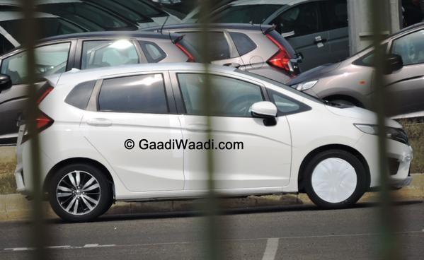 Honda New Jazz Spied