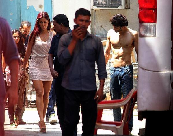 Katrina Kaif's Red Hair Avatar in 'Fitoor'