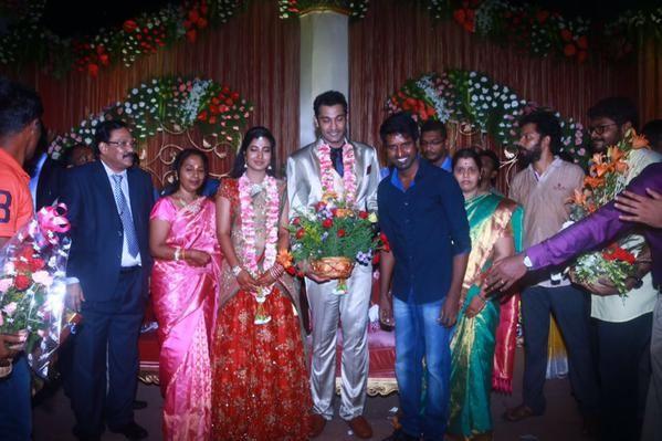 Soori at Arulnidhi's Wedding Reception
