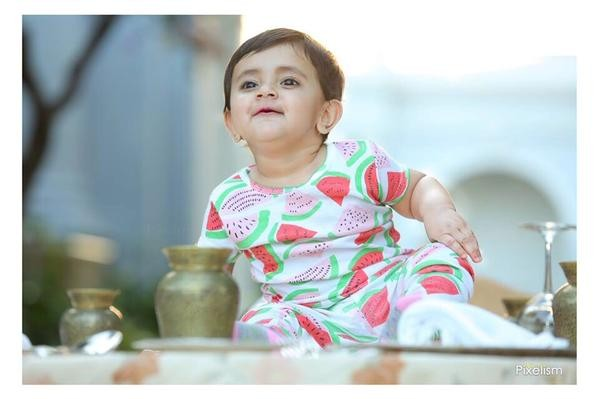 Lakshmi Manchu's daughter Vidya Nirvana