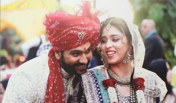 Image result for rohit sharma wife'