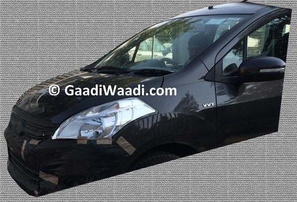 Maruti Ertiga Facelift Spied Testing Again, AMT in the Offing?