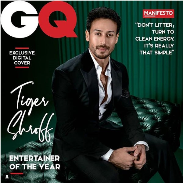 Tiger Shroff,Tiger Shroff Entertainer of the Year,Tiger Shroff on Magazine cover,Tiger Shroff Baaghi 2,Baaghi 2,Tiger Shroff pics,Tiger Shroff images,Tiger Shroff stills,Tiger Shroff pictures,Tiger Shroff photos