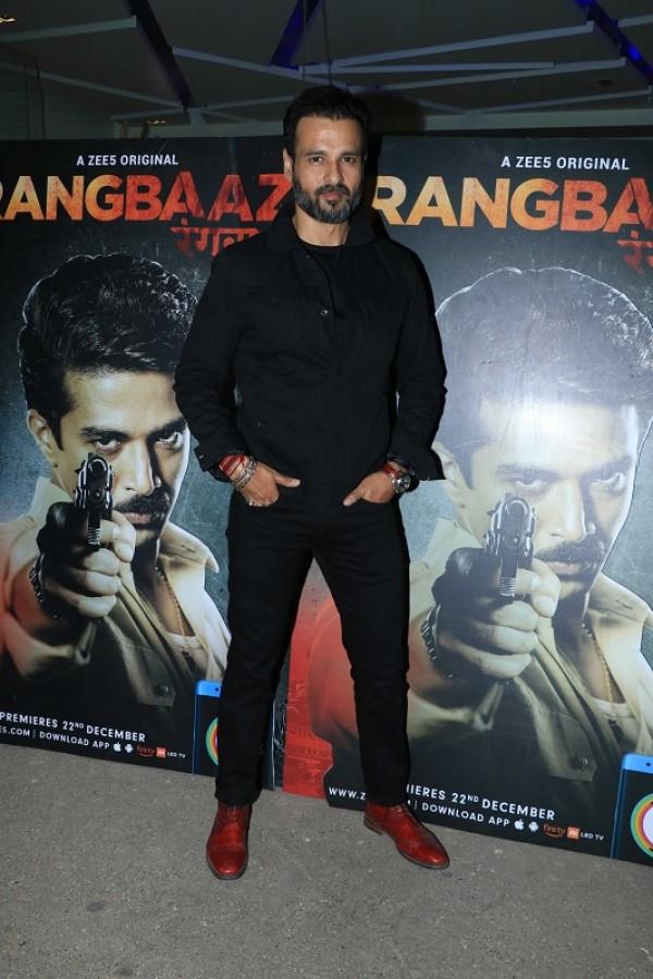 Rangbaaz screening: Sonakshi Sinha, Jimmy Shergill and Bobby