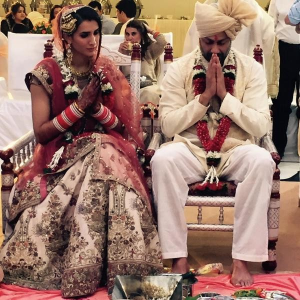 Director abhishek Kapoor,Abhishek Kapoor weds Pragya Yadav,Fitoor director,Rock On,wedding pictures,photos